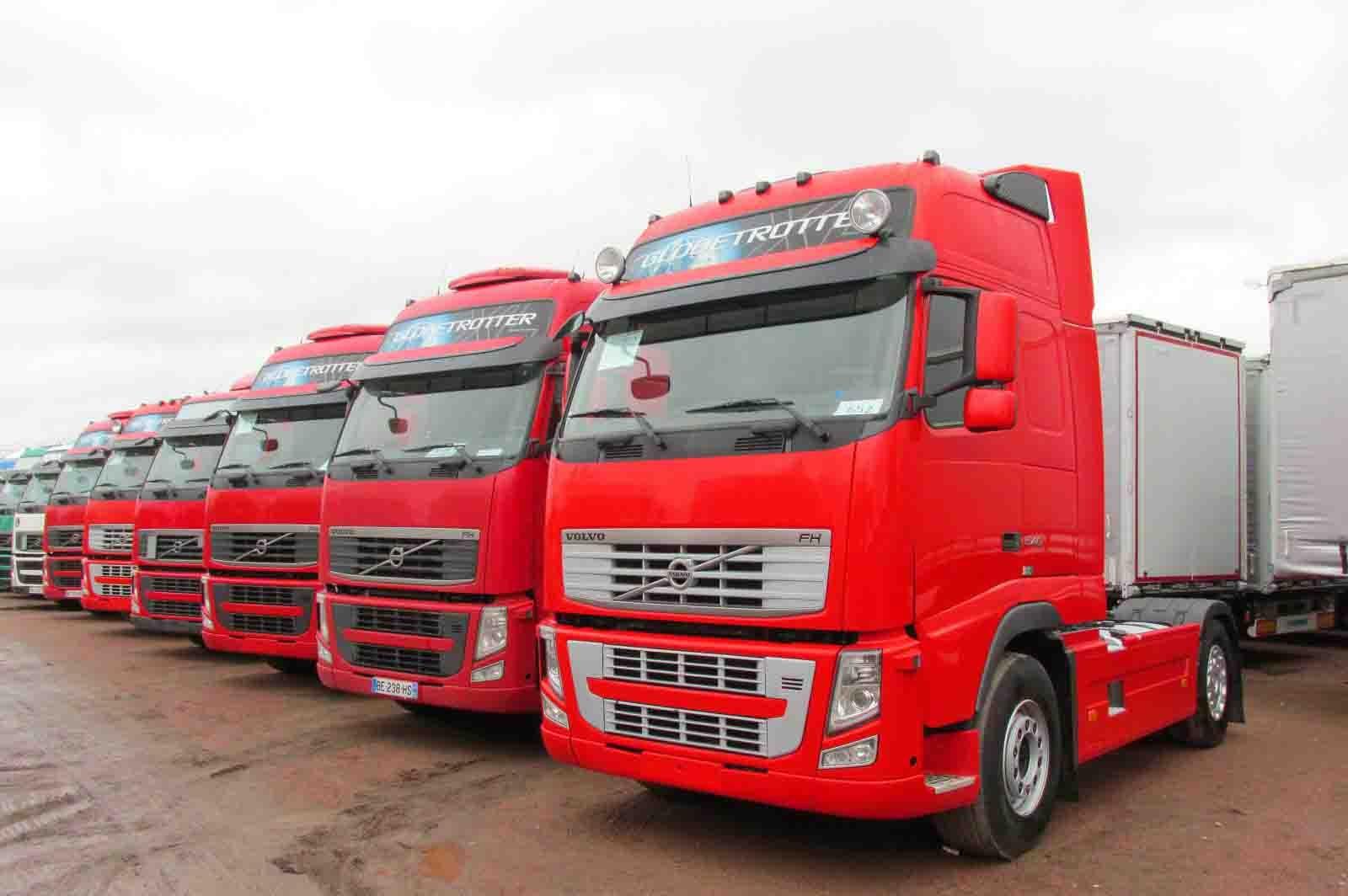 грузовики тягачи